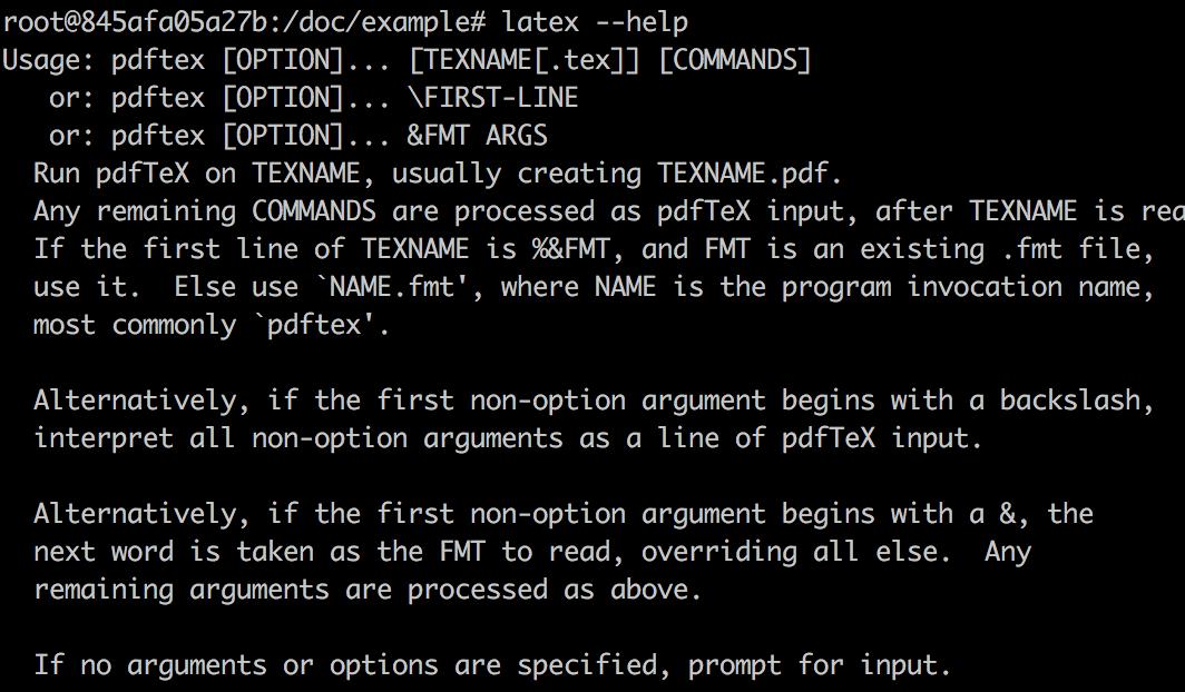 LaTex 命令